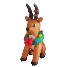 Felfújható karácsonyi figura Rénszarvas 240cm HOP1001116