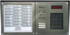 EVKT 800 központ + névtábla falon kív.,3 oszl. H 101622