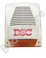 DSC LADY-KIT Kültéri hang-fényjelző szabotázsvédett fémházban LADYKIT