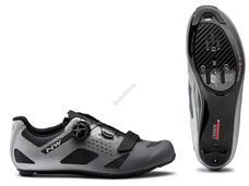 NORTHWAVE Cipő NW ROAD STORM CARBON 40,5 antracit/ezüst fényvisszaverős 80191011-86-405