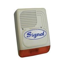 SIGNAL PS-128 A Kültéri hang-fényjelző szabotázsvédett fémházban PS128A