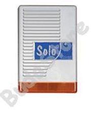 SOLO L Kültéri hang-fényjelző szabotázsvédett fémházban