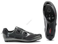 NORTHWAVE Cipő NW ROAD MISTRAL PLUS 45,5 metálszürke 80211010-74-455