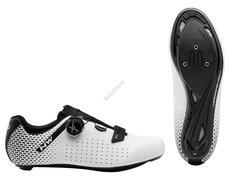 NORTHWAVE Cipő NW ROAD CORE PLUS 2 45 fehér/fekete 80211012-51-45