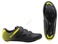 NORTHWAVE Cipő NW ROAD CORE 2 42,5 fekete/fluo sárga 80211013-04-425