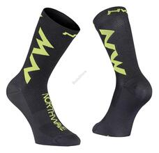 NORTHWAVE Zokni NW EXTREME AIR XS (32-35) fekete/fluo lime 89182132-05-XS