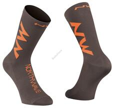 NORTHWAVE Zokni NW EXTREME AIR S (36-39) antracit/narancs 89182132-84-S