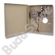 DSC TE 1230 AK Fém dobozba szerelt segédtáp akkumulátortöltő TE1230AK