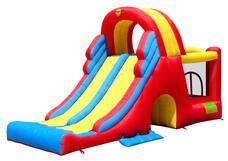 HAPPYHOP 9082 Mega Slide otthoni légvár ugrálóvár