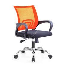 Karfás irodai forgószék narancssárga HOP1001171-3