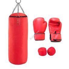 Junior box szett piros 10-es kesztyűvel HOP1001164-2