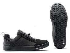 NORTHWAVE Cipő NW FLAT TAILWHIP 45 fekete, taposó pedálhoz 80223020-10-45