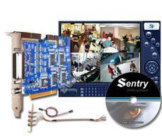 SENTRY 2004 PC alapú digitális megfigyelő kép- és hangrögzítő