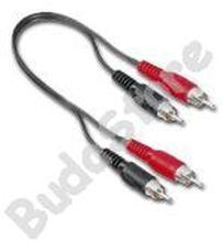 RCA-RCA kábel 2-es 1,5m Átjátszó kábel