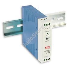 Mean Well MDR-20-24 Mini DIN sínre szerelhető kapcsolóüzemű tápegység