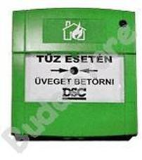 SYSTEM Sensor MCP3A-G01 Hagyományos kézi jelzésadó zöld