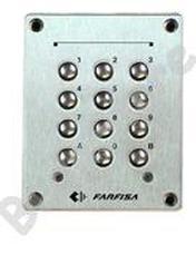 FARFISA FC32 Vandálbiztos fém süllyeszthető kódzár