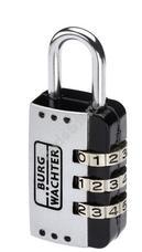 BURG WACHTER CombiLock72 25SB bőrönd lakat Combi Lock 72 25 SB