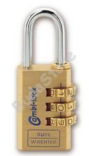 BURG WACHTER CombiLock80 30MSB számzáras lakat Combi Lock 80 30 M SB