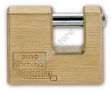 BURG WACHTER Quadra 44450 biztonsági U lakat Quadra 444 50