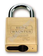 BURG WACHTER Profi 116 PC50Ni biztonsági lakat félcilinderhez előkészítve Profi 116 PC 50 Ni