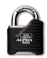 BURG WACHTER Alpha 80065 csúcsminőségű acél lakat Alpha 800 65