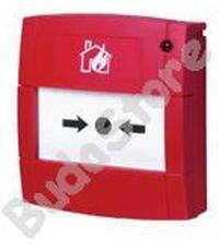 BENTEL MCP5A-R01-I Címezhető kézi jelzésadó nyomólappal MCP5AR01I