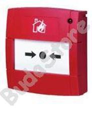 BENTEL MCP5A-R01-NI Címezhető kézi jelzésadó nyomólappal MCP5AR01NI