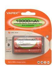 VAPEX 1VTE10000D D méretű NiMH góliát akkumulátor