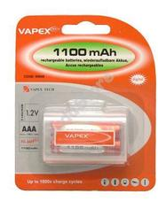 VAPEX 2VTE1100AAA 2db AAA méretű NiMH mini ceruza akkumulátor
