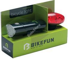 BIKEFUN LINK SZETT biciklilámpa csomag JY-369+JY-388R