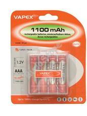 VAPEX 4VTE1100AAA 4db AAA méretű NiMH mini ceruza akkumulátor