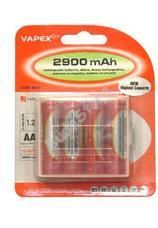VAPEX 4VTE2900AA 4 db AA méretű NiMH ceruza akkumulátor
