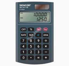 SENCOR SEC 221/8E zsebszámológép SEC221/8E