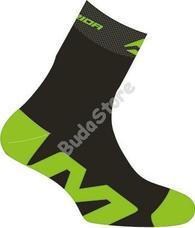 MERIDA 2014 sport zokni fekete/zöld S-es 2317001141