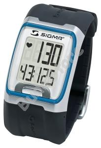 SIGMA PC 3.11 Pulzusmérő óra - kék csíkkal