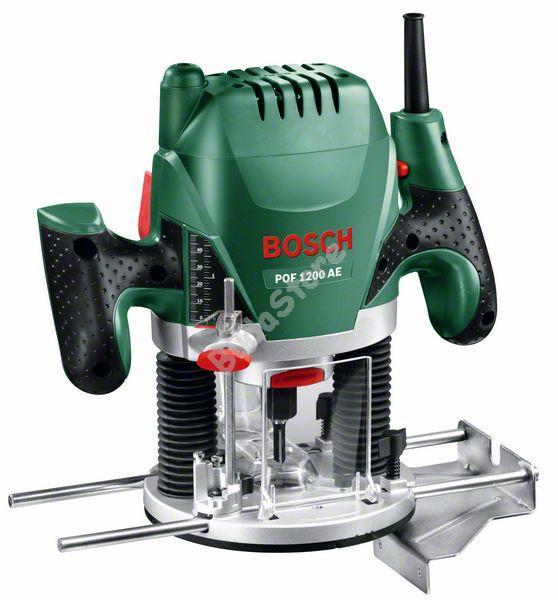 Bosch POF1200AE felsőmaró 1200W 060326A100 POF 1200 AE
